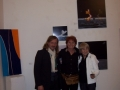 Con Alberto Battaglioli e Huguette Girauds